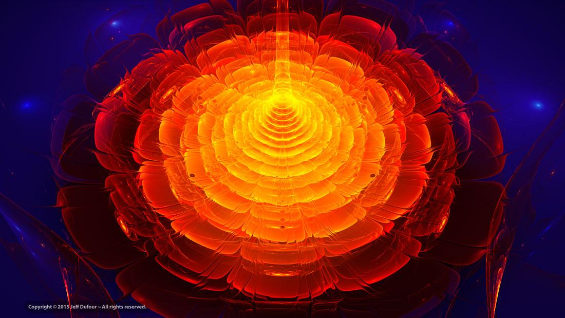 Floractal Radiant Beam