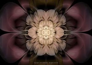 Emerging Floractal Bloom