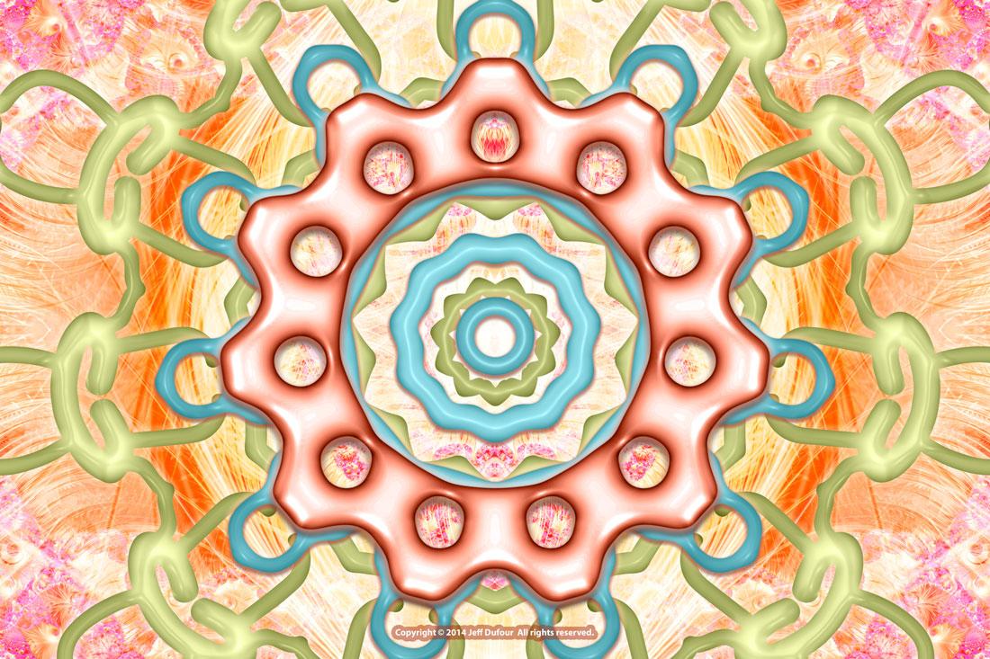 Firenze Mandala - Sacred Symmetry