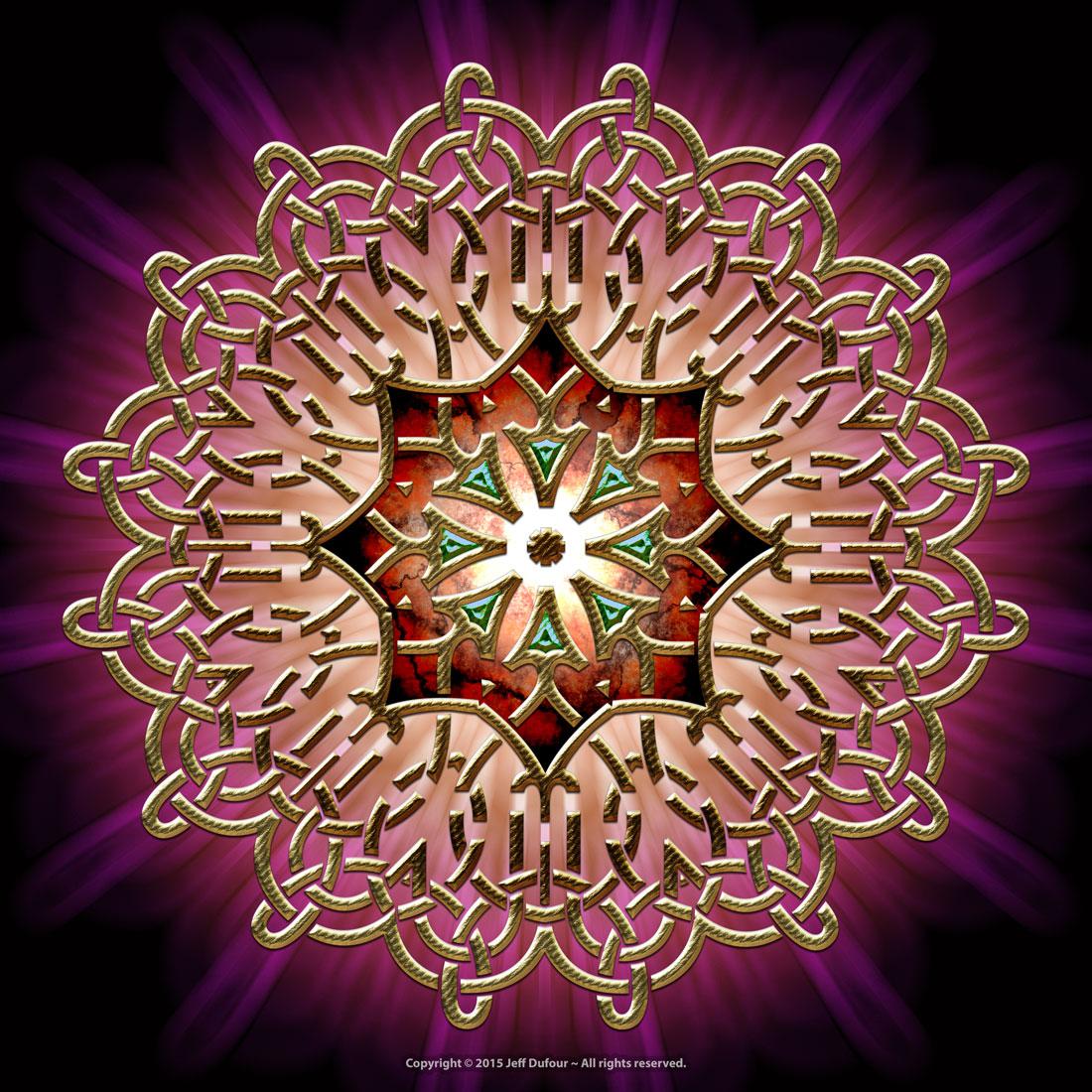 Golden Emblem - Sacred Symmetry