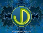 JD Logo Blue Fractal - Personal Identity