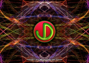 JD Logo Electric Light - Peronal Identity