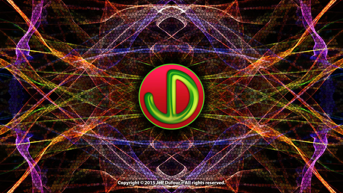 JD Logo Electric Light - Peronal Identity