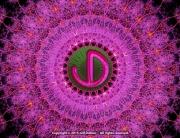 JD Logo Fractal Mandala - Personal Identity