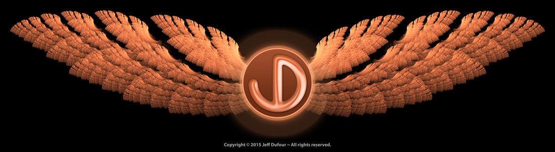Jeff Dufour's Logo - Orange Wings - Personal Identity