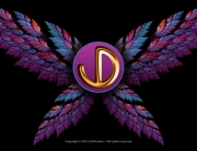 JD Logo Pretty Wings - Personal Identity