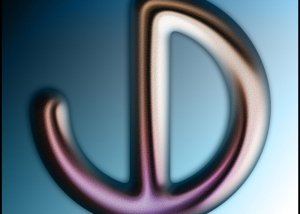 Jeff Dufour Logo - Blue Gradient - Personal Identity